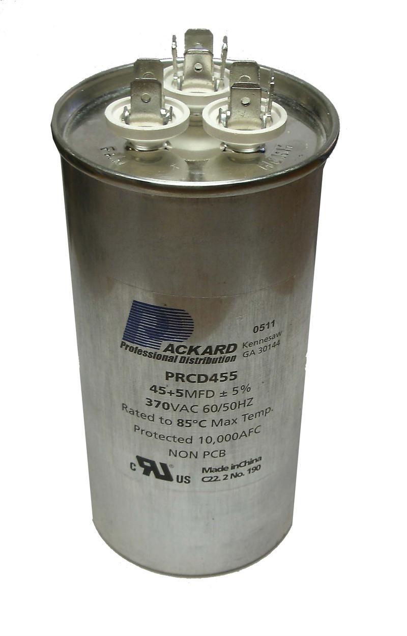 35 3uf 370 Volt Round Dual Run Capacitor