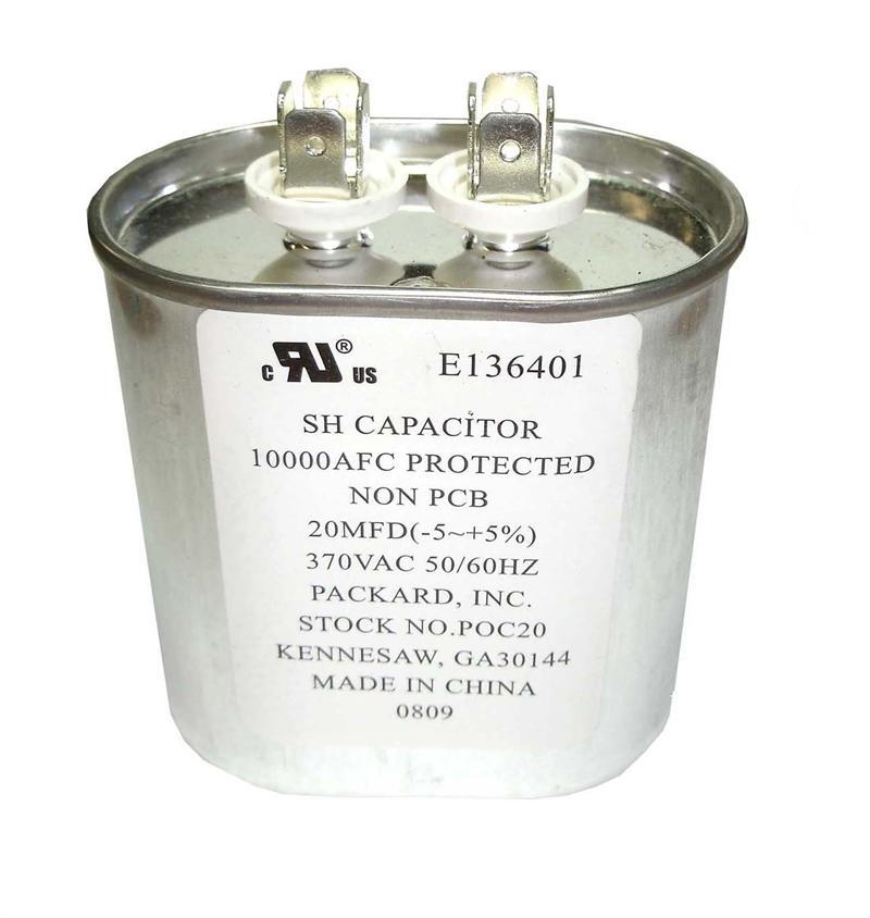 80uf 370 volt round motor run capacitor 2 pack for 370 volt 10 mfd motor run oval capacitor