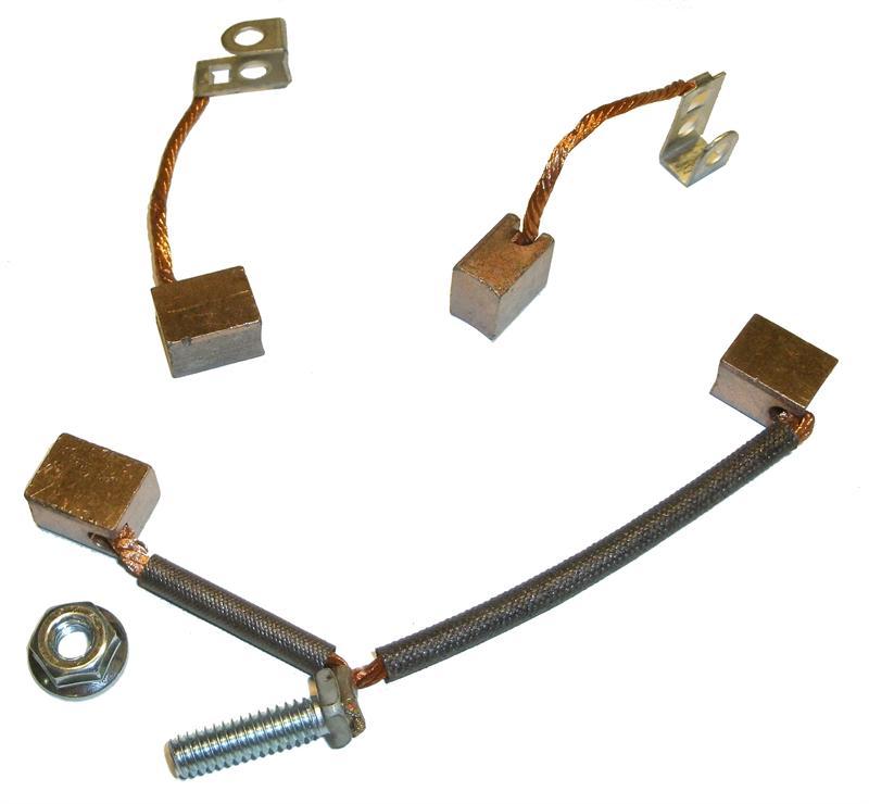 """Electric Motor Brush Repair Kit: .37"""" X .5"""" X .61"""" BRUSH KIT BR687805"""