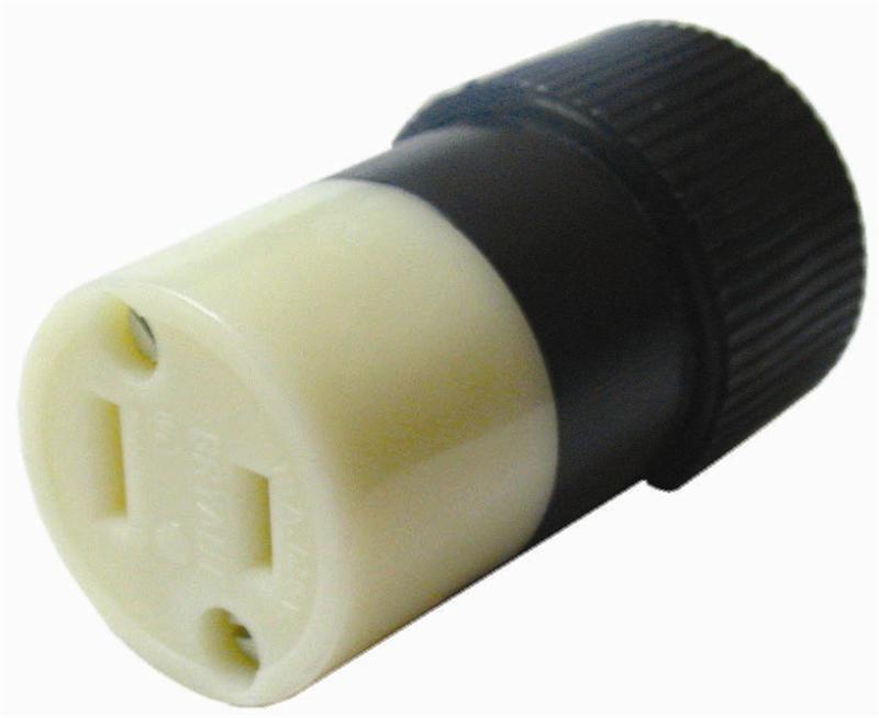 Connector   9755n  2 Wire  U0026quot Polarized U0026quot   125 Volt  15 Amp   2