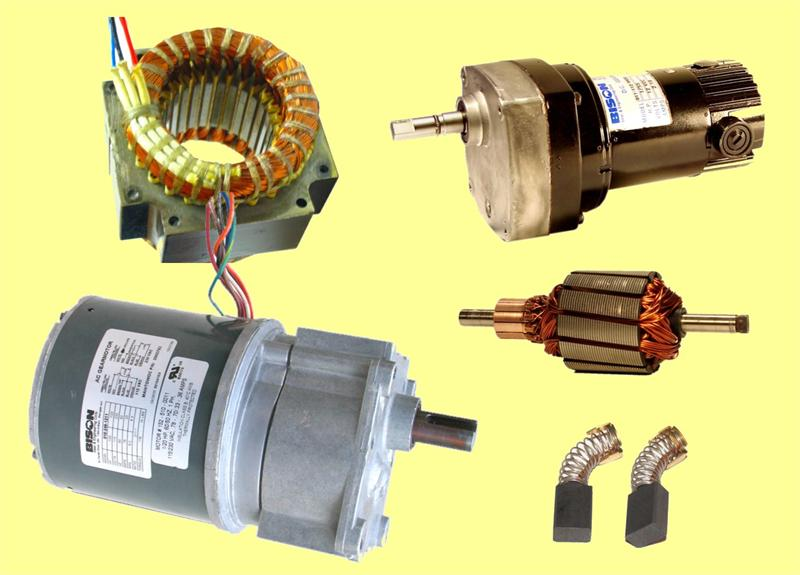 Bison gear motor repair and rewind for Biedler s electric motor repair