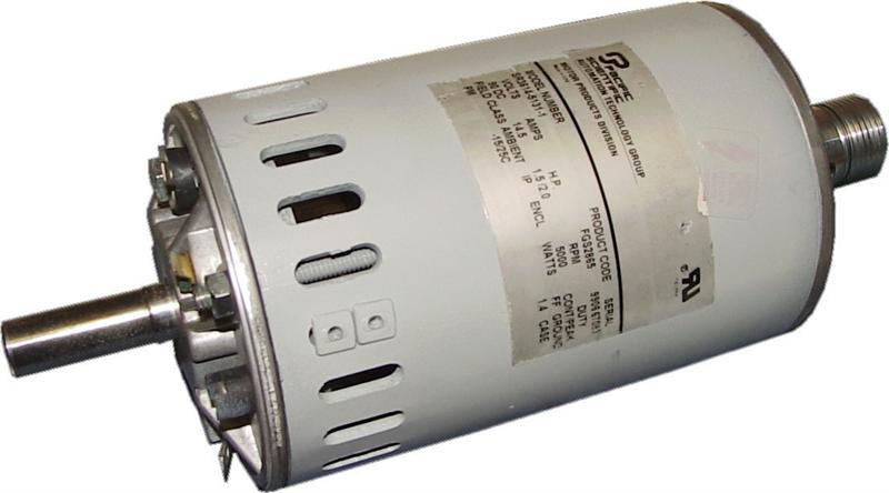 Pacific scientific treadmill motor repair for Who rebuilds electric motors