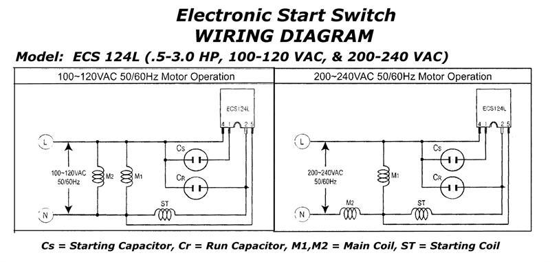 240v Motor Wiring Diagram Single Phase - Database